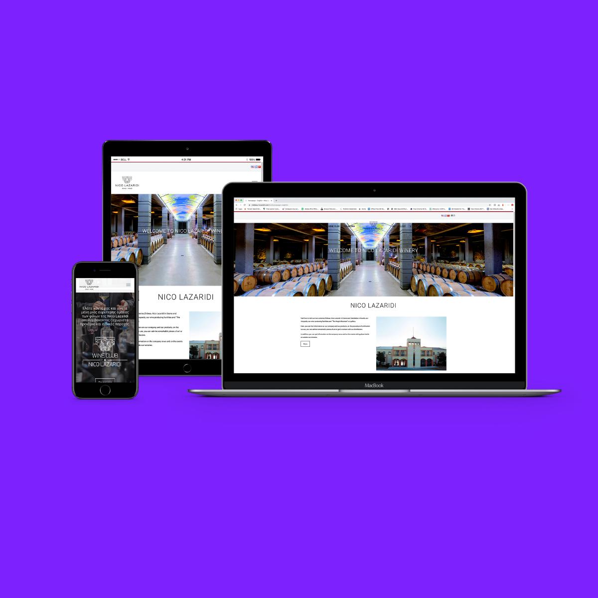 κατασκευή ιστοσελίδας nico lazaridi
